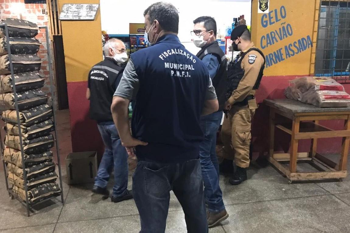 Fiscalização em locais denunciados pelo 199 são intensificadas em Foz do  Iguaçu