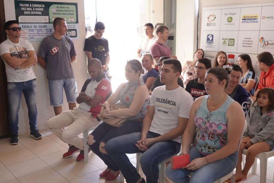 Ao todo, 300 pessoas participaram da campanha de coleta de sangue para o Banco do Hospital Regional de Sorriso