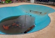 Vândalos danificam pista de skate no Imperial em Atibaia