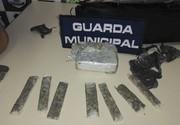 Guarda Municipal prende casal suspeito de tráfico de drogas