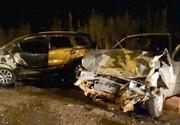Homem morre e mulher fica ferida em acidente entre dois carros