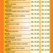 Cardápio (página 1)