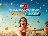 No CCAA você aprende inglês e espanhol de forma natural, interativa e dinâmica, como aprendeu o português
