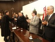 Ato aconteceu na noite desta segunda-feira (12), no Tribunal de Justiça de Santa Catarina, em Florianópolis