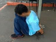 Em maringá rapaz foi contido por um policial fora do horário de serviço no início da tarde desta quinta-feira (16), no Parque Tarumã.