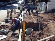 Objetivo é melhorar o sistema de captação de água da chuva nas proximidades do córrego Vai e Volta