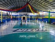 Cerimônia de abertura dos Jogos Escolares do Paraná começa oficialmente às 19h30min. Evento deve receber 3 mil pessoas.