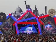 Neste sábado (10), festival chega a Ciudad Del Este com música sertaneja e eletrônica.