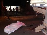 Acidente foi na noite de terça-feira (28), na Rua Mineirão, próximo da BR-277, no bairro Portal da Foz.