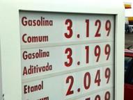 Em um dos cinco postos consultados o litro da gasolina subiu de R$ 2,88 para R$ 2,95
