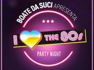 Em clima de flashback, a festa será animada pela Banda 80 BITS
