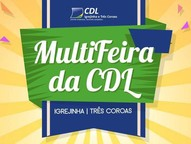 No dia 25 de março, a Rua Coberta de Três Coroas receberá a programação da Multifeira da CDL.