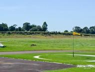 Após um longo período de negociações, a ampliação do aeródromo local finalmente saiu do papel