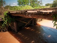 A força das enxurradas causou estragos em quase todas as regiões da cidade, porém os maiores impactos foram sofridos na zona rural