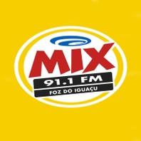 Rádio Mix FM - 91,1 - Foz do Iguaçu