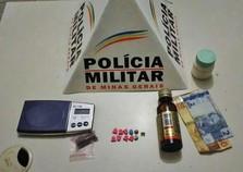Jovens são presos com ecstasy na Avenida Ricarti Teixeira