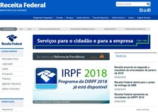 Receita Federal libera programa do Imposto de Renda 2018