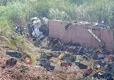Caminhoneiro morre em acidente na Serra do Selado