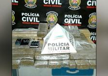 Polícia prende dois homens por tráfico de drogas em Andradas