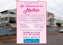 Santa Casa homenageia mulheres com evento gratuito