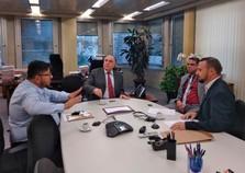 Presidente da CEMIG recebe ofício para aumento energético em Andradas