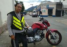 Primeiro mototáxi é regularizado pela Prefeitura Municipal de Andradas