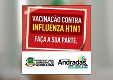 Secretaria de Saúde e Ação Social promove campanha de vacinação da Influenza