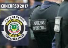 Abertas as inscrições para o Concurso da Guarda Municipal de Andradas