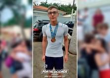 Time masculino sub-15 de handebol de Andradas é campeão do Jo-juninho