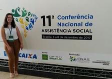 Andradas participa de XI Conferência Nacional de Assistência Social