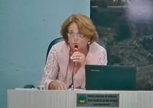 """""""Leninha"""" é a primeira mulher a ser eleita presidente da Câmara de Andradas"""