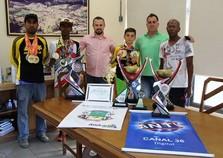 Prefeito recebe Andradas Bicicross Clube e as premiações de 2017