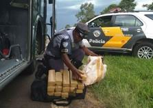 Moradora de Atibaia foi presa em Araçatuba com 14 quilos de maconha