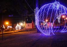 Atibaia já está iluminada e decorada para o Natal