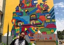 Atibaia fica mais colorida com murais de Artistas