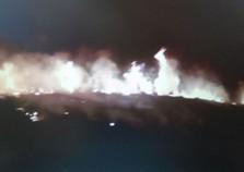 Incêndio atinge área equivalente a 70 campos de futebol do Parque do Itapetinga em Perdões