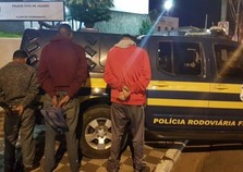 Trio suspeito de assaltos a motoristas na Dom Pedro I é preso