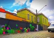 Último mural do ano será pintado pela Incubadora dos Artistas em Atibaia