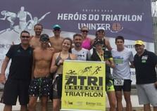 Atletas brusquenses se destacam em prova de triatlo olímpico