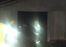 Local do antigo Papa Léguas é atingido por incêndio, em Guabiruba