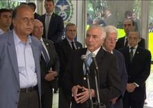 Temer anuncia novo Ministério Extraordinário da Segurança Pública