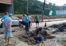 Secretaria de Obras se concentra na recuperação dos estragos após as chuvas