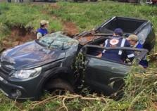 Mulher morre em acidente na PR-323