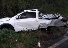 Casal morre em trágico acidente na PR-323