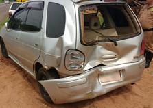 Gestante fica ferida após acidente na PR-323