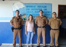 Proerd inicia formação nas escolas municipais de Cruzeiro do Oeste