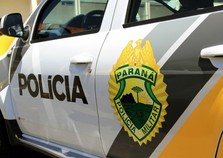 Policiais do 7º BPM recuperam veículo momentos após o roubo em Goioerê