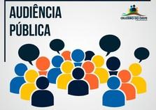 1ª Audiência Pública para a Revisão Plano Diretor Municipal de Cruzeiro do Oeste