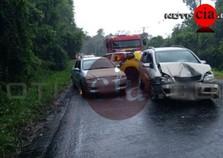 Acidente entre 5 veículos deixa 4 feridos na PR-082 em Cianorte