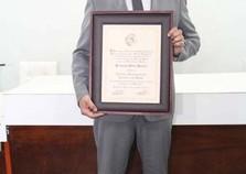 Junior recebe titulo de cidadão honorário de Cruzeiro do Oeste